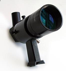 Cercatore TS Optics 8x50 - con supporto - nero - visione angolata a 90°