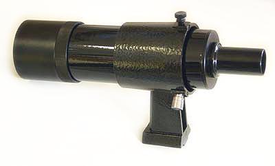 Cercatore TS Optics 8x50 - con supporto - nero - visione dritta