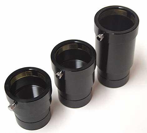 """Prolunga TS da 2"""" con blocco ad anello a pressione - lunghezza 80mm"""