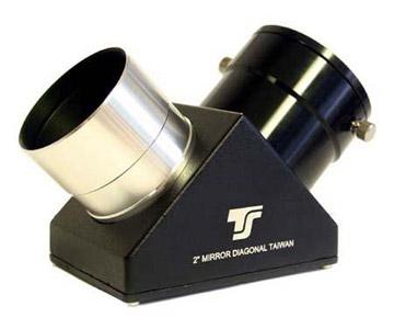 """Diagonale a specchio TS a 90° da 2"""" - 91% riflettività - chiusura con anello a pressione"""