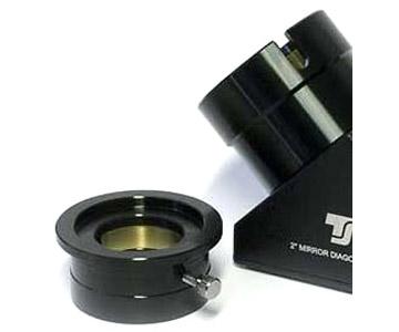 """Diagonale a specchio TS a 90° da 2"""" - 99% riflettività - al quarzo - chiusura con anello a pressione"""