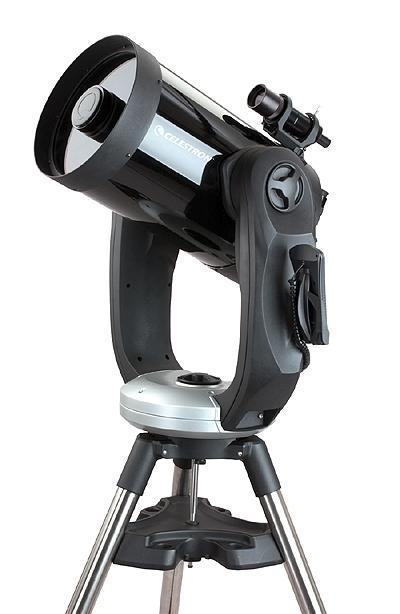 CPC-1100 - Schmidt-Cassegrain da 280mm f/10 con robustissima montatura a forcella altazimutale computerizzata e con GPS incorporato