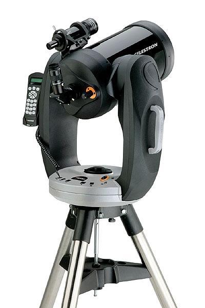 CPC-925 - Schmidt-Cassegrain da 235mm f/10 con robustissima montatura a forcella altazimutale computerizzata e con GPS incorporato