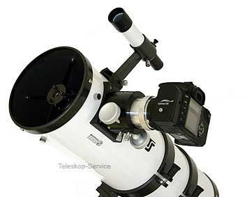 Der newton wird bereits fertig für den astrofotografischen einsatz
