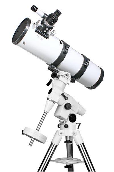 Gsn1507eq5 gso 6 f 5 newton teleskop auf skywatcher eq5 montier