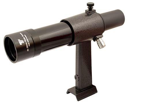 Cercatore TS Optics 6x30 - con supporto - nero - visione dritta