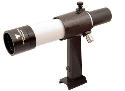 Cercatore TS Optics 6x30 - con supporto - bianco - visione dritta