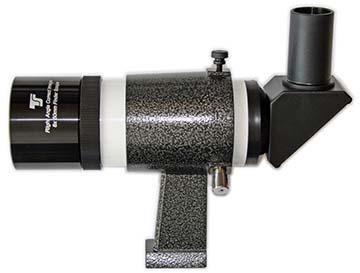 Cercatore TS Optics 8x50 - con supporto - bianco - visione angolata a 90°