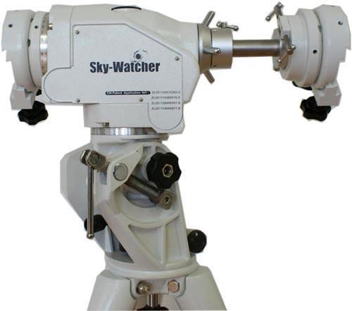Montatura Skywatcher AZ EQ 6 Synscan in modalità altazimutale