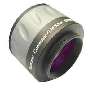 Riduttore di focale / correttore 0.85X per doppietto APO Skywatcher ED80