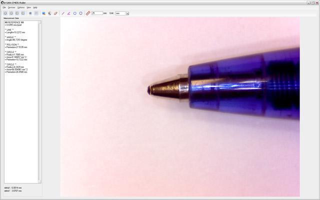 TS DDM software screenshot