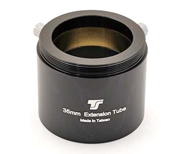 Visual back TS da T2 a 31,8mm con filetto T2 maschio lato oculare - versione lunga