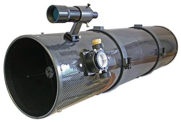 """TS 10"""" F/5 UNC Telescopio Newton - posizione del focheggiatore ottimizzata e tubo in fibra di carbonio"""