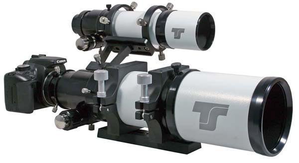 TS 50mm ED Superfinder und Leitrohr
