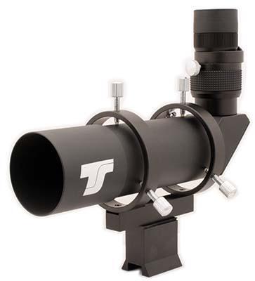 Cercatore Ts Optics 9x50 angolato - immagine raddrizzata - illuminatore opzionale