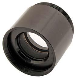 "TS Optics 1.6x Glass Path Corrector and Barlow Lens 1.25"""