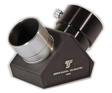 Diagonale a specchio TS Optics a 90° - 99% riflettività - dielettrico - 1/12 lambda - da 31,8mm