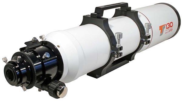 """Tripletto Super APO FPL-53 TS d 130mm f/6.62 - focheggiatore da 3"""" a pignone e cremagliera"""