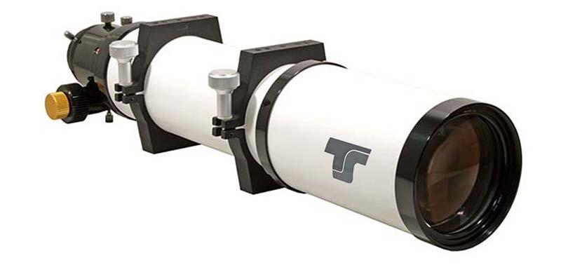 """New!  TS PHOTOLINE tripletto APO 102/700mm in FPL-53 con focheggiatore a pignone e cremagliera da 2.5"""""""
