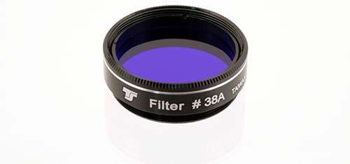 Filtro TS da 31,8mm Colorato - Blu Scuro #38A