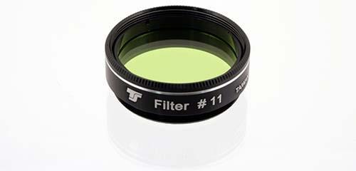 Filtro TS da 31,8mm Colorato - Giallo/Verde #11