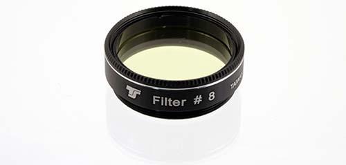 Filtro TS da 31,8mm Colorato - Giallo Chiaro #8