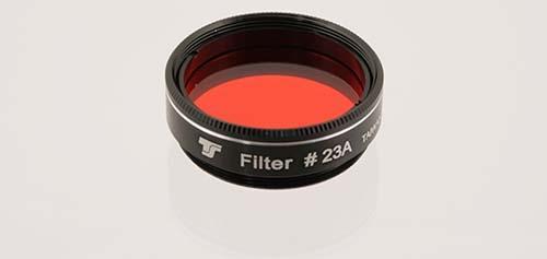 Filtro TS da 31,8mm Colorato - Rosso Chiaro #23A
