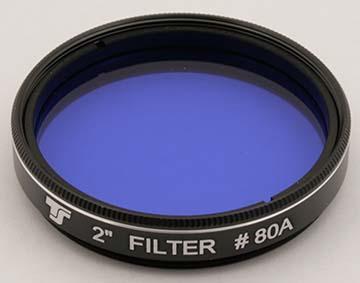 Filtro TS da 50,8mm Colorato - Blu #80A