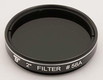 Filtro TS da 50,8mm Colorato - Verde #58