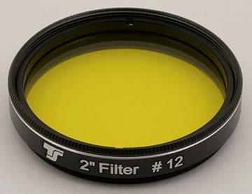 Filtro TS da 50,8mm Colorato - Giallo #12
