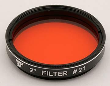 Filtro TS da 50,8mm Colorato - Arancio #21