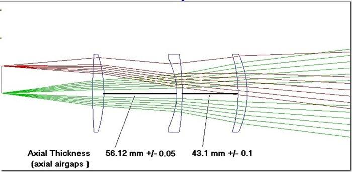 Correttore di coma 0.95x Wynne TS Optics per newton