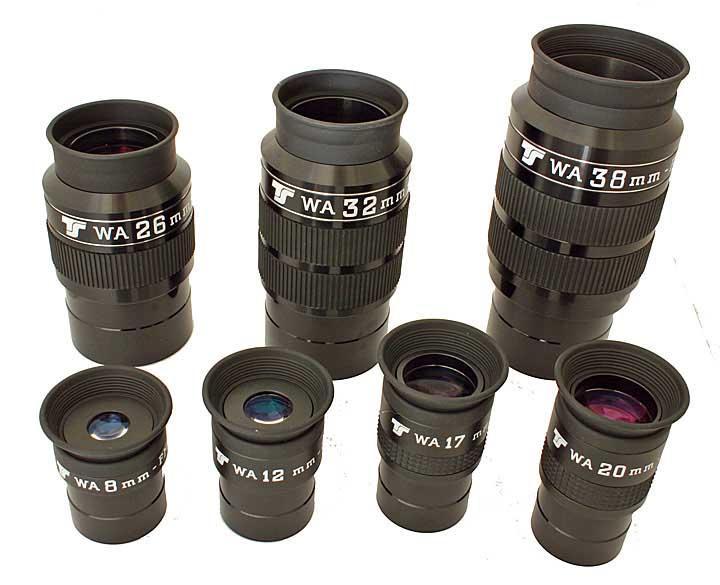 """Oculare TS WA Wide Angle da 70°- 1.25"""" - 20mm lunghezza focale"""