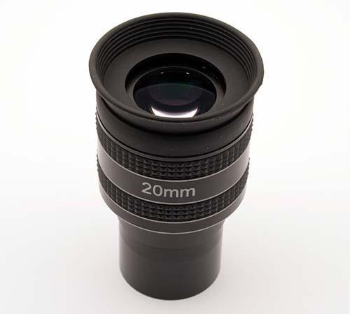 """Oculare planetario TS Optics HR Planetary UWA - 60° FOV - 1.25"""" - 20mm di lunghezza focale"""