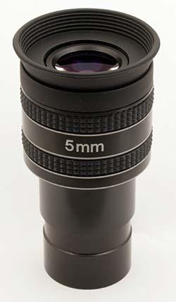 """Oculare planetario TS Optics HR Planetary UWA - 60° FOV - 1.25"""" - 5mm di lunghezza focale"""