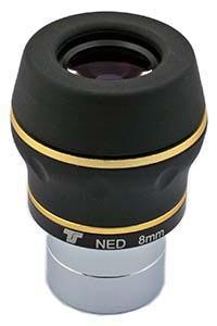"""Oculare planetario TS N-ED da 1.25"""" - 60° FOV - lunghezza focale 8mm"""