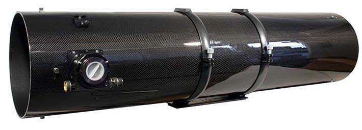 """TS 12"""" f/5 Newton ONTC con tubo in fibra di carbonio e focheggiatore a scelta"""
