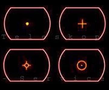 Cercatore Red Dot TS Optics in metallo con supporto per basette Vixen