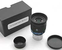 """Oculare planetario TS Optics HR Planetary UWA - 60° FOV - 1.25"""" - 4mm di lunghezza focale"""