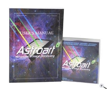 Teleskop express: astro art 6.0 bildverarbeitungs und kontroll