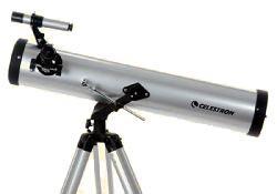 Teleskop express: celestron powerseeker 76az 76 700mm newton