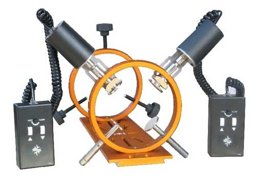 Teleskop-Express: Motorized guide scope mount, for max  80 mm OTA