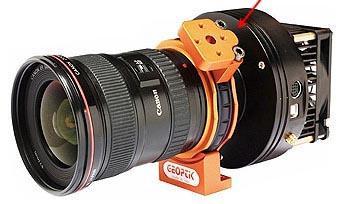 Teleskop express vixen wide photo adapter fokaladapter für dslr