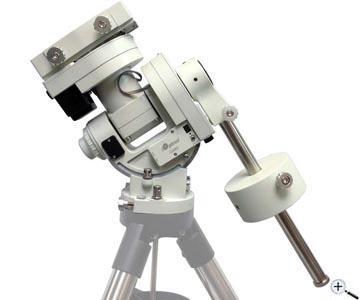 Teleskop express ioptron cem parallaktische goto montierung