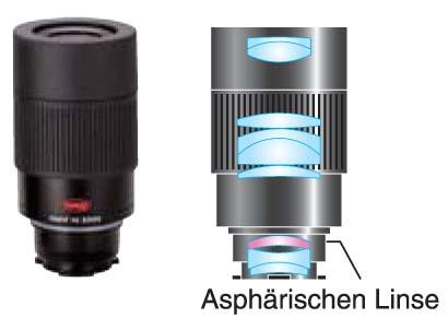 Teleskop express: kowa zoom okular 20 60x für tsn 880 & tsn 770