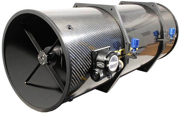 """TS 12"""" f/3 Newton ONTC a/6 lambda - tubo in fibra di carbonio - assemblato su misura"""