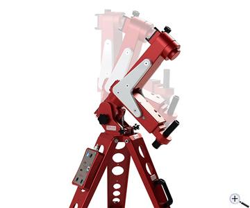 Teleskop express avalon m zero einarm gabelmontierung set mit t
