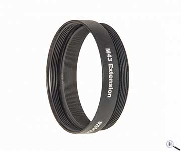 Baader M43 Extension Tube with 7 5 mm height