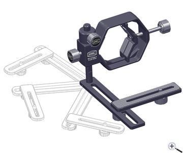 Teleskop express baader microstage ii befestigung von kameras