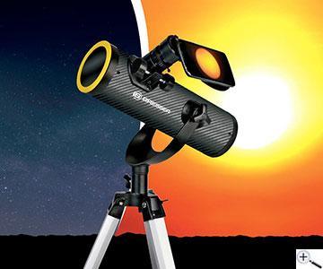 Teleskop express: bresser solarix 76 350 mm sonnenteleskop mit stativ